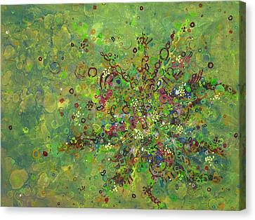 Cell No.4 Canvas Print by Angela Canada-Hopkins