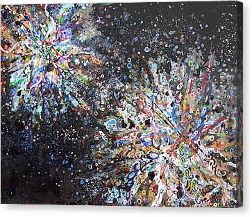Cell No.7 Canvas Print by Angela Canada-Hopkins