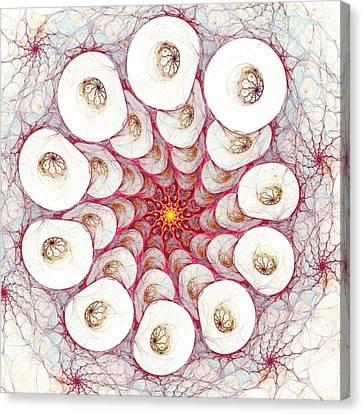 Cell Printer Canvas Print by Anastasiya Malakhova