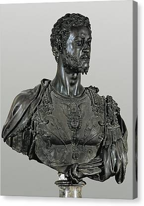 Cellini, Benvenuto 1500-1571. Bust Canvas Print by Everett