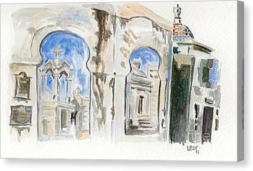 Cementario De La Recoleta Canvas Print by Lauren White