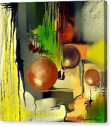 Centaure Canvas Print by Francoise Dugourd-Caput