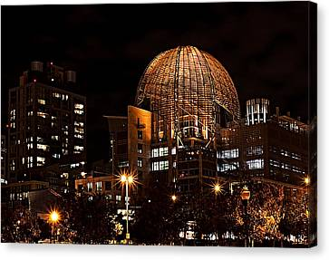 Central Library San Diego Canvas Print by See My  Photos