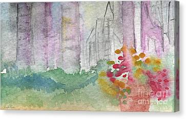 Central Park  Canvas Print by Linda Woods