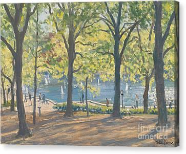 Central Park New York Canvas Print by Julian Barrow