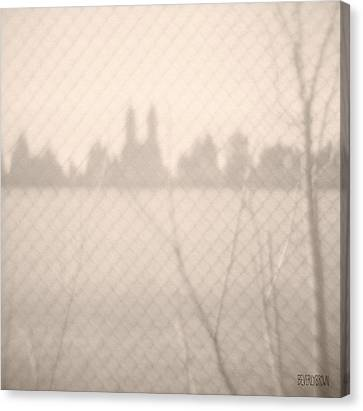 Central Park Reservoir Canvas Print by Beverly Brown