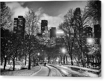Central Park View Canvas Print by John Farnan