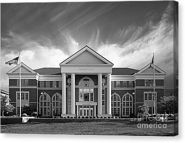 Centre College - Crounse Hall Canvas Print by University Icons
