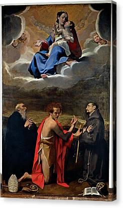 Cesi Bartolomeo, Madonna And Child Canvas Print by Everett