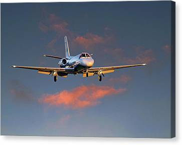 Cessna Citation Canvas Print by James David Phenicie