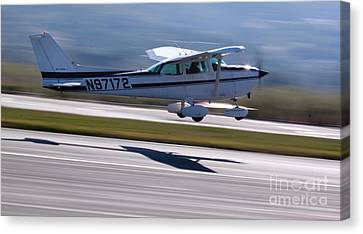 Cessna Takeoff Canvas Print by John Daly