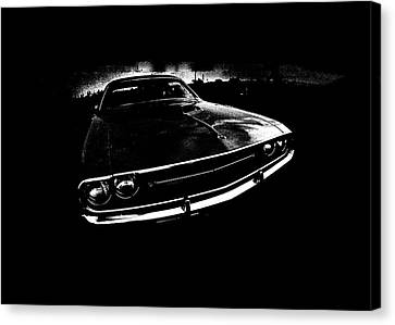 Challenger Canvas Print by Mark Rogan