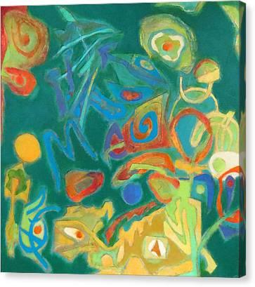 Chameleon Canvas Print by Diane Fine