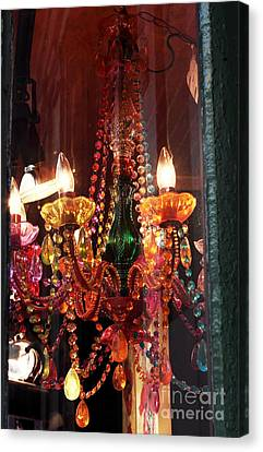 Chandelier Canvas Print by John Rizzuto