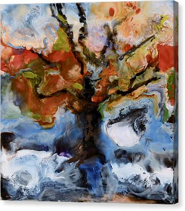 Change Of Seasons Canvas Print by Donna Tuten