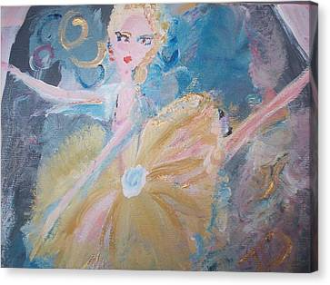 Changement Ballet Canvas Print by Judith Desrosiers