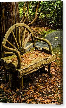 Changing Of The Seasons Canvas Print by Jordan Blackstone