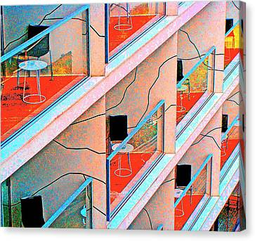 Channeling Mondrian  Canvas Print by Ira Shander