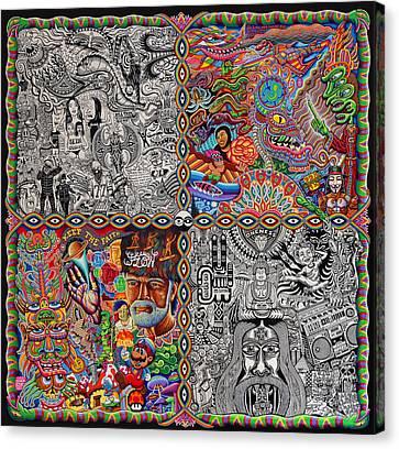 Chaos Culture Jam Canvas Print by Chris Dyer
