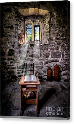 Chapel Light Canvas Print by Adrian Evans