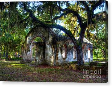 Chapel Of Ease Canvas Print by Mel Steinhauer