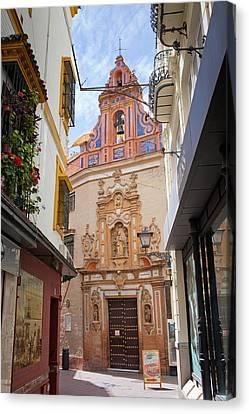 Chapel Of St. Joseph Of Seville Canvas Print by Artur Bogacki