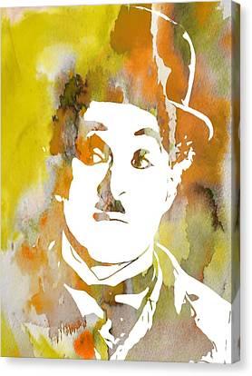 Chaplin Canvas Print by Dan Sproul