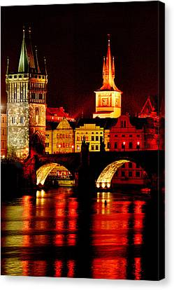 Charles Bridge Canvas Print by John Galbo