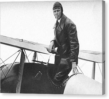 Charles Lindbergh Canvas Print by Unknown