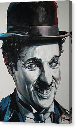 Charlie Canvas Print by Tachi Pintor
