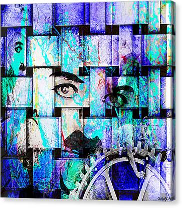 Charlot Canvas Print by GANECH Graphics