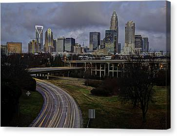 Charlotte Dawn Canvas Print by Serge Skiba