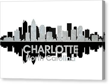 Charlotte Nc 4 Canvas Print by Angelina Vick