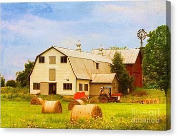 Charlotte Vermont Gem Canvas Print by Deborah Benoit