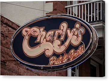 Charly's Flagstaff Canvas Print by Steven Lapkin