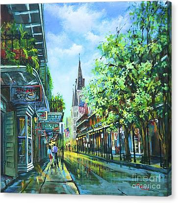 Chartres Afternoon Canvas Print by Dianne Parks