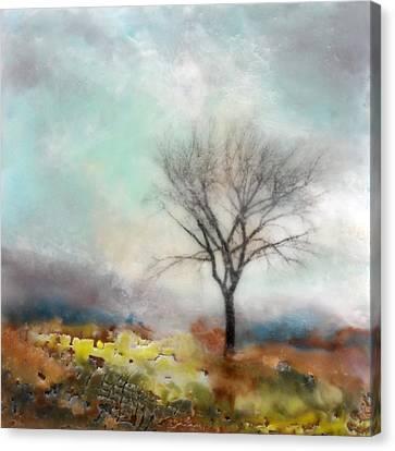 Chartreuse Trail Canvas Print by Victoria Primicias