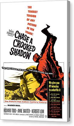 Chase A Crooked Shadow, Us Poster Canvas Print by Everett