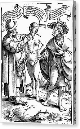 Chastity Belt, C1540 Canvas Print by Granger