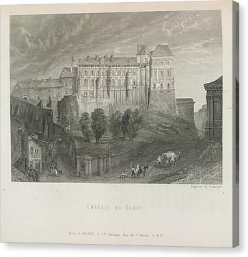 Chateau De Blois Canvas Print by British Library