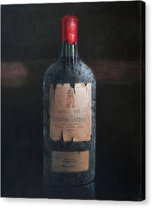 Chateau Latour Canvas Print by Lincoln Seligman