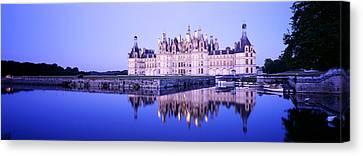 Chateau Royal De Chambord, Loire Canvas Print by Panoramic Images