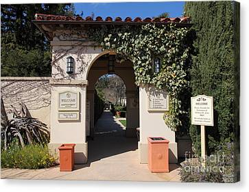 Chateau St. Jean Winery 5d22197 Canvas Print by Wingsdomain Art and Photography