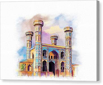 Chauburji Lahore Canvas Print by Catf