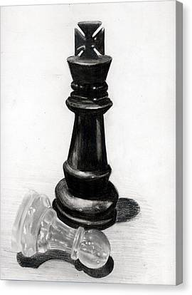 Checkmate Canvas Print by Ilshad Luckhoo