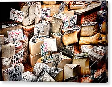 Cheese Shop Canvas Print by Olivier Le Queinec