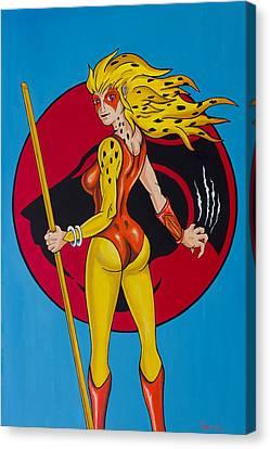 Cheetara Canvas Print by Travis Radcliffe