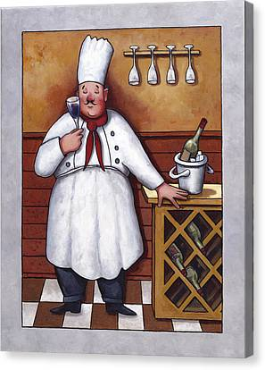 Chef 2 Canvas Print by John Zaccheo