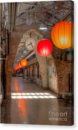 Chelsea Market I Canvas Print by Clarence Holmes