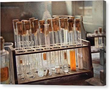 Chemist - Specimen Canvas Print by Mike Savad
